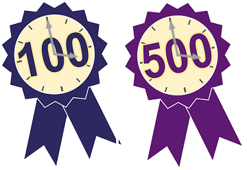 100 and 500 hour certificates