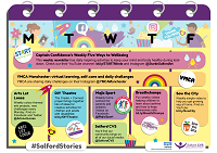 Salford Stories timetable - click to download a copy