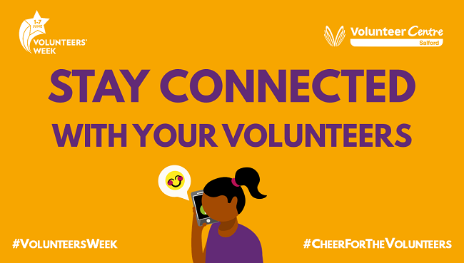 Stay connected with your volunteers