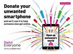 Community Calling Smartphone Donations
