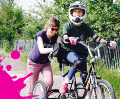 Cycling for Salford fundraiser