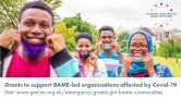 Grants for BAME-led organisations affected by Covid-19