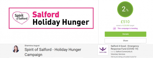 Holiday Hunger Scheme and Campaign