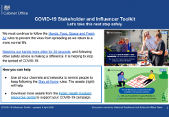 Covid-19 stakeholder toolkit