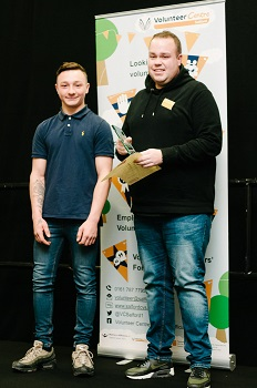 The Alan Henning Community Volunteer of the Year award - Tom Perry