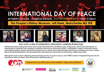 Day of Peace event