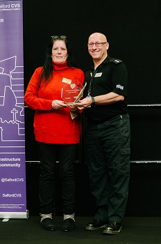 Small Community Group of the Year award - Street Support Salford and Manchester