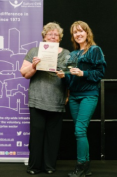Social Enterprise of the Year award - Sourced in Salford
