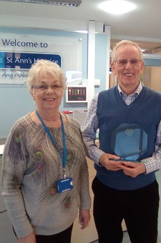 Charity of the Year award - St Ann's Hospice