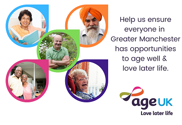 Help ensure everyone in Greater Manchester has opportunities to live well and love later life