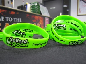 Salford 4 Good wristbands