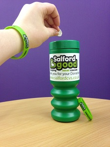 Salford 4 Good fundraising pot