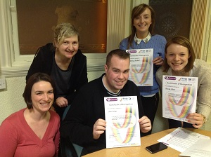 Pride in Practice volunter certificates