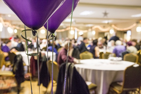 balloons heart of salford awards
