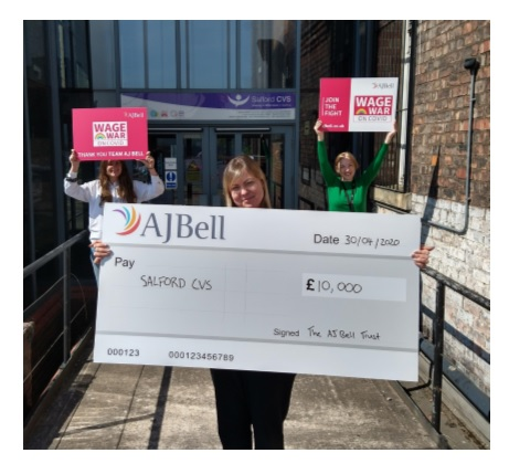 AJ Bell Trust supporting Salford's food response