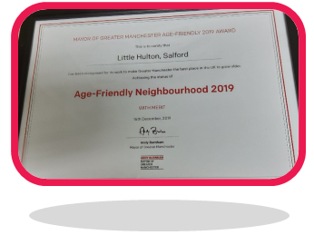 Age friendly certificate